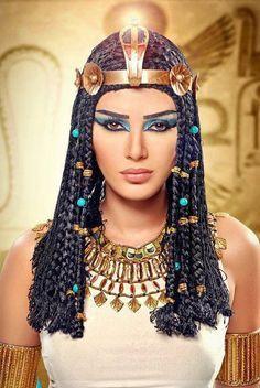orígenes del maquillaje en Egipto