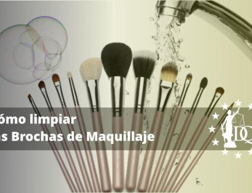 Cómo limpiar las Brochas de Maquillaje | Estudiar Estética Online