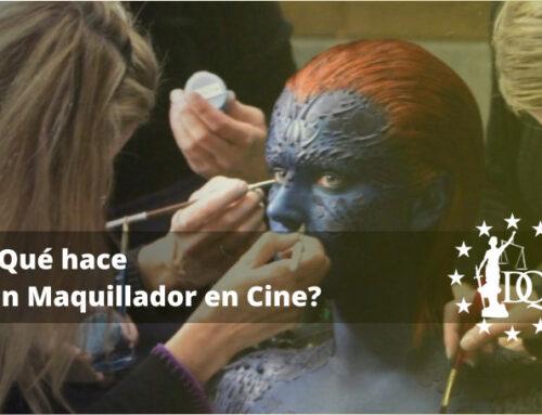 ¿Qué hace un Maquillador en Cine? | Estudiar Estética Online