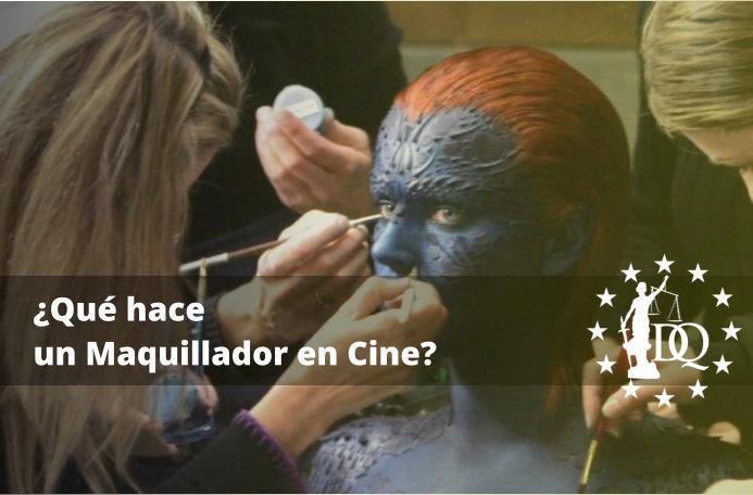 Qué hace un Maquillador en Cine